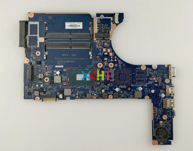 907703 601 i5 7200U DA0X83MB6H0 Hp Probook の 450 G4 ノートパソコンのマザーボードマザーボードテスト