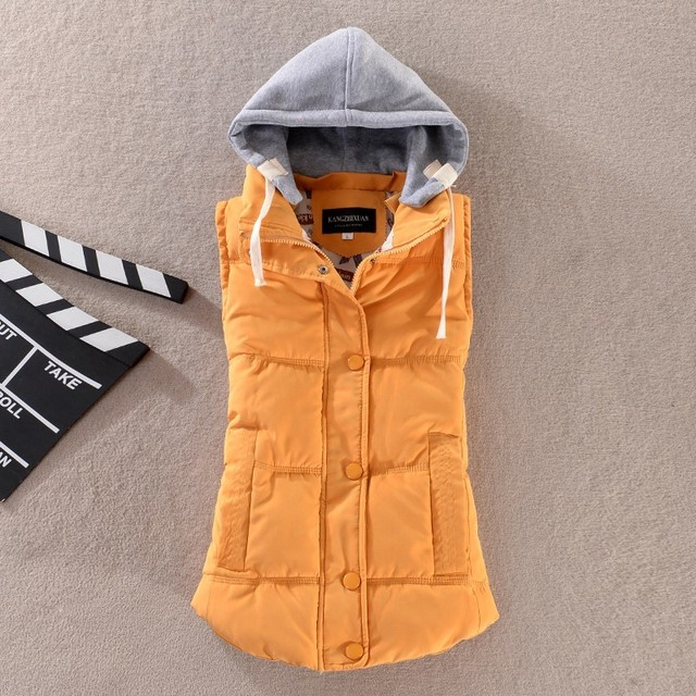 Woman Winter Warm Down Vests 2