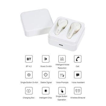 T écouteurs Bluetooth Mobiles | T-88 TWS Sans Fil Bluetooth Casque Portable Mini Bureau D'affaires Binaural Universel écouteur Mise à Niveau édition Pour Apple Iphone