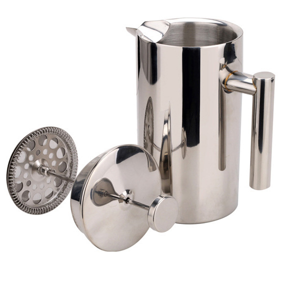 350ML 750ML 1000ML Stainless Steel French Coffee Press Pot Double Wall Cafetiere Insulated Coffee Tea Maker Pot