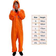 Windproof Waterproof Siamese Raincoats Overall Electric Motorcycles Fashion Raincoat Men And Women Rain Pack