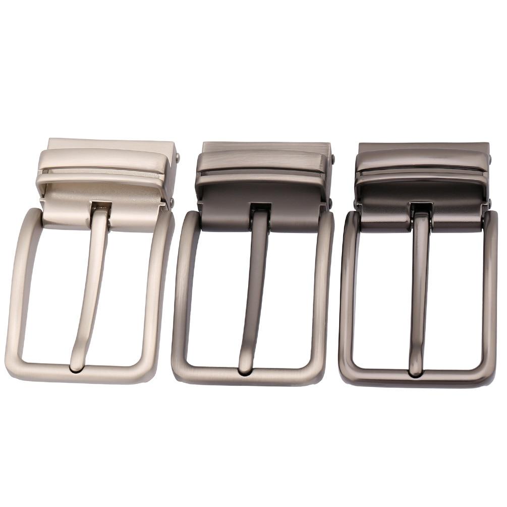 3.3-3.48cm Width Men Belt Buckle Pin Buckle Fashionable Alloy Metal Buckle Heads DIY Men Accessories Gift LY35-3871
