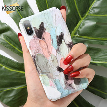 KISSCASE Water Painting Shell Phone Cases for Huawe