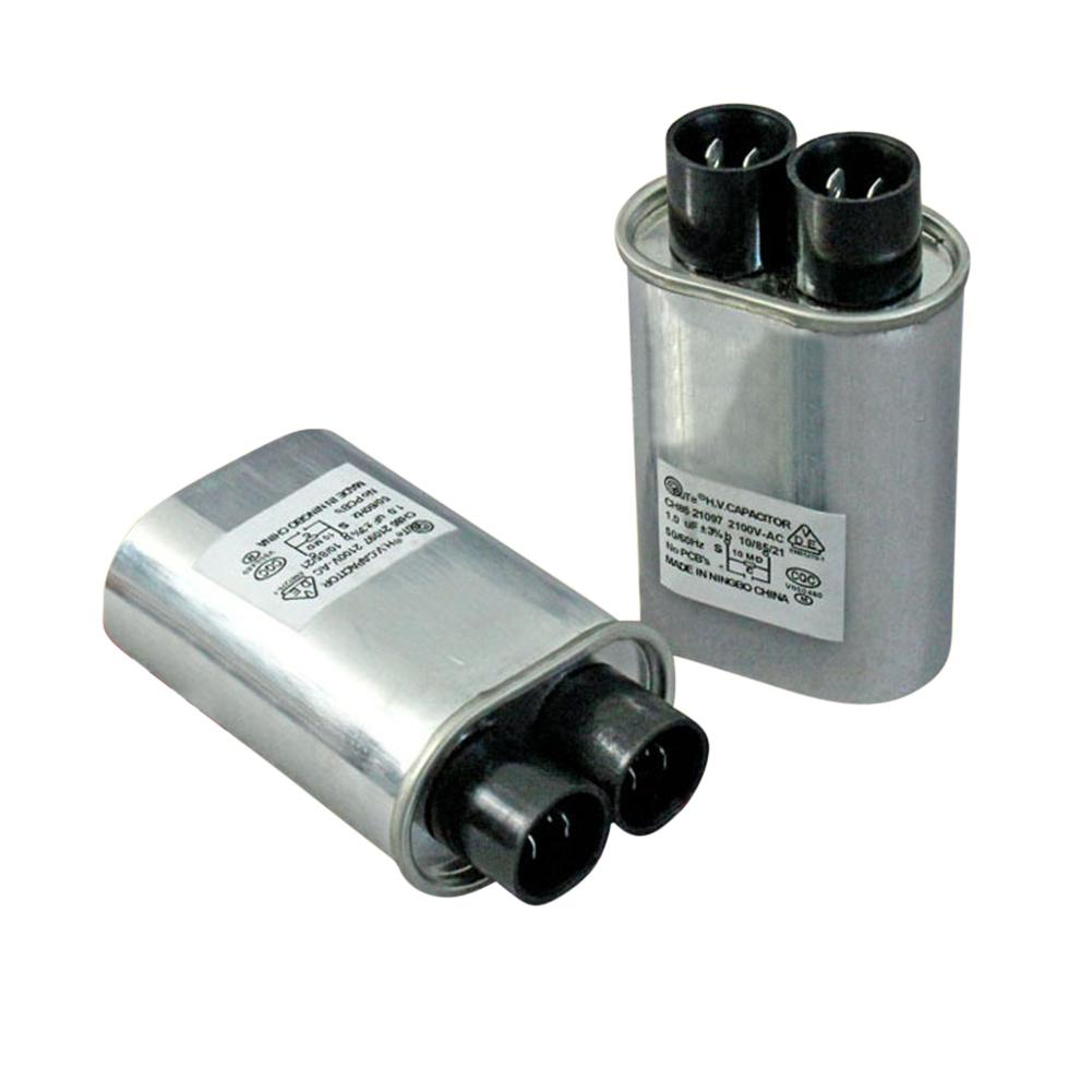 Reemplazo del condensador de HV de alto voltaje 70*52*33mm 0,92 uF 2100V para horno microondas