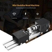 כלי מחרטה כלי קשר Plug 100W מכונת מיני מחרטה DIY נגרות מכונת מחרטה השחזה וליטוש חרוזים צחצוח מקדחה רוטרי כלי עץ וו (4)