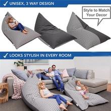 Детские подушки для хранения, сумка в виде фасоли, мягкие плюшевые игрушки в виде животного, мягкий мешочек, ткань, кресло для отдыха, диван, Новое поступление, подушка в стиле пэчворк