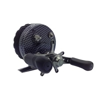 2.6:1 Ratio Inline Ice Fishing Reel Left in Line Wanter Ice Reel with 4+1 Ball Bearings