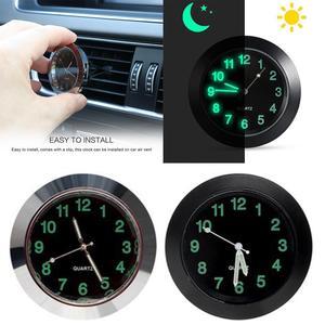 Mini Car clock Car Thermometer