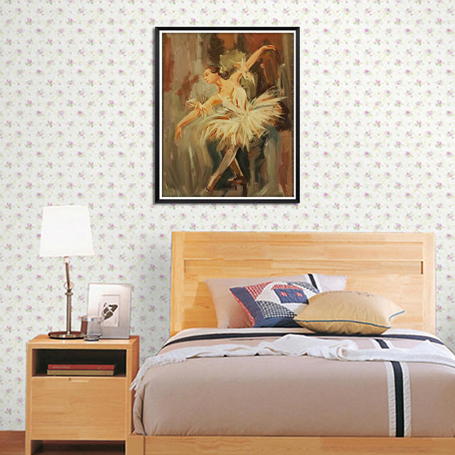 Modern Dancer Canvas painting wall art Decoration For The Living Room prints picture Without Frame