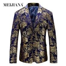 Male Unique Luxury Costume Tuxedo Fit Suit Dress Party Weddi
