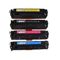 540 540A CB540A CB541A CB542A CB543A Kompatibel Warna Toner Cartridge untuk HP125a Color LaserJet CP1215 CP1515n CP1518ni CM1312