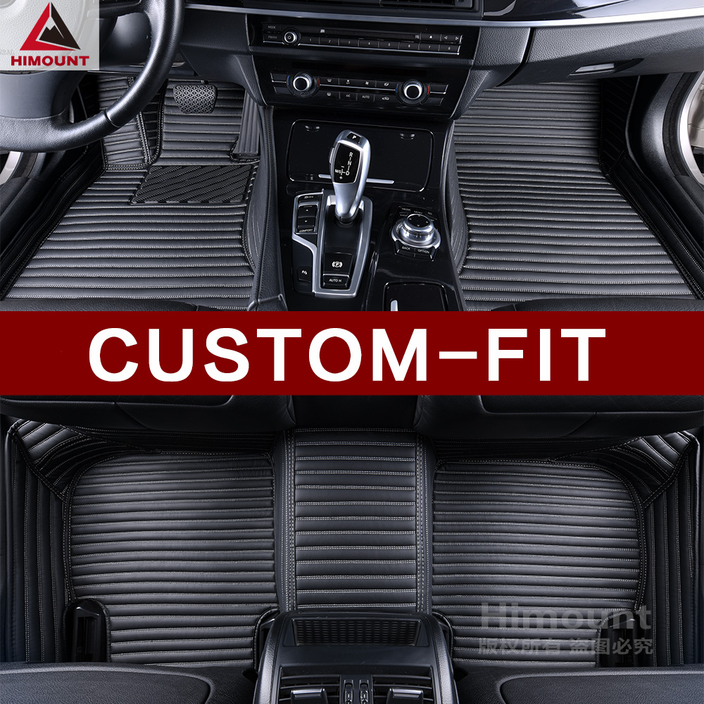 Customized car floor mats specially for Ford Fusion Mondeo Kuga Escape Edge Ranger Endeavour luxury all weather carpet rugs