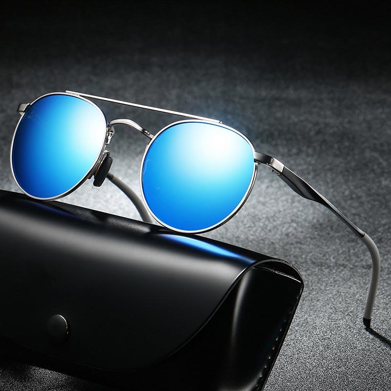 e8ce911e5d BAVIRON Punk Influencer Sunglasses Men Women Polarized Vintage Sun Glasses  UVA UVB Steam Punk Sunglasses Male