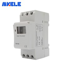 цена на THC15A 7 Days Adjustable Programmable Setting Clock/ On/ Off Time Digital Timer Switch Relay 220-240V