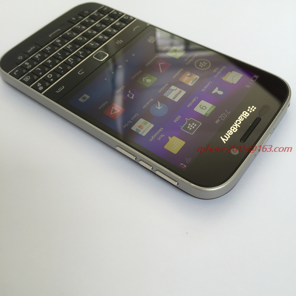 Buy Original Unlocked Blackberry Classic Q20 16g Rom 35 8mp 4g Wifi Refurbished Phone From Reliable Mobile Phones