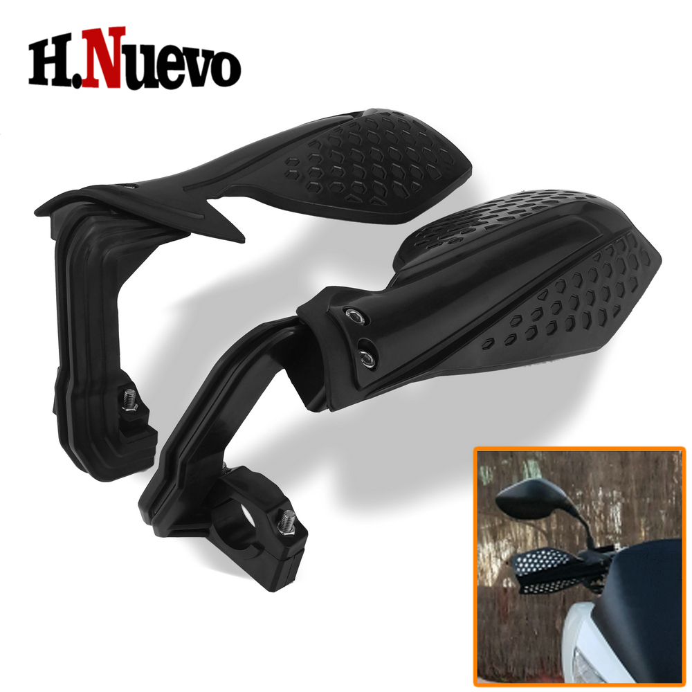Motorcycle Dirt Bike Pit Bike Pitbike ATV Quad Motocross Universal Hand Guards Handguard Protector Protection with 22mm Handbar image
