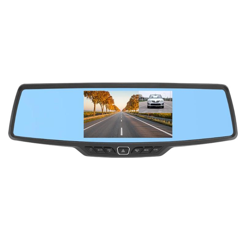 H703 5.0 Inch Ips Screen 1080P Front And Rear Double Lens Reversing Image Rearview Mirror Driving RecorderH703 5.0 Inch Ips Screen 1080P Front And Rear Double Lens Reversing Image Rearview Mirror Driving Recorder