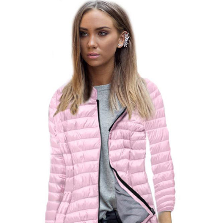 2018 winter jacket women autumn hooded Coat Female Spring Jacket mujer cotton Parkas Casual Thin light Basic Jackets XXXL