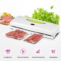 الكامل أتمتة WP300 المنزلية الغذاء فراغ السداده ماكينة تغليف المنزل حفظ الأغذية بما في ذلك 10 قطعة أكياس مكنسة