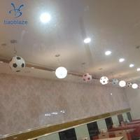 E27 Modern Simple Soccer Pendant Lamp ,for Child Bedroom Ceiling Lamp, Glass Shade, E27 Sports Shop Lights