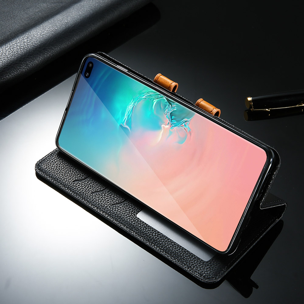 CASEIER Case With Card Slot Bags For Samsung Note 8 9 S8 S9 S10 E Plus S7 Edge Leather Case For Samsung Galaxy A7 A8 A9 A6 Capa in Flip Cases from Cellphones Telecommunications