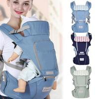 Gabesy 3 in 1 Ergonomic Baby Carrier Infant Baby Hipseat Carrier Front Facing Ergonomic Kangaroo Baby Wrap Sling for Baby Travel