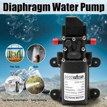 Bomba de agua de alta presión cc 12V 130PSI 6l/Min, bomba de agua de diafragma, interruptor automático de bomba autocebante