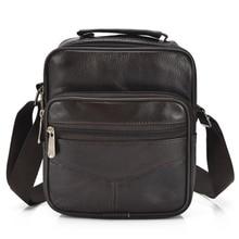 2018 retro men's bag all pack sheepskin new soft leather shoulder bag diagonal men's bag leather