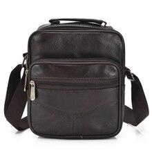 2018 retro mens bag all pack sheepskin new soft leather shoulder diagonal