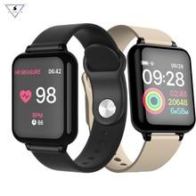 Купить с кэшбэком B57 Men Sport Smart Bracelet Ip67 Waterproof Smart Watch Heart Rate Monitor Blood Pressure Fitness Tracker Women Wearable Watch.
