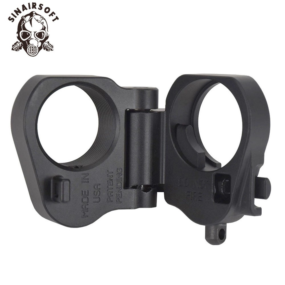 AR Folding Stock Adapter For M16 M4 SR25 Series GBB AEG For Airsoft paintball shooting hunting