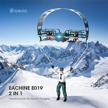 Eachine E019 2-Axis RC Stunt Paraglider Flight Mode Altitude Hold Drone Quadcopter RTF
