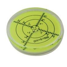 Nível circular da bolha redonda do nível do espírito do nível da bolha dos pces 60*12mm nivelador horizontal da bolha do nível da elevada precisão 1