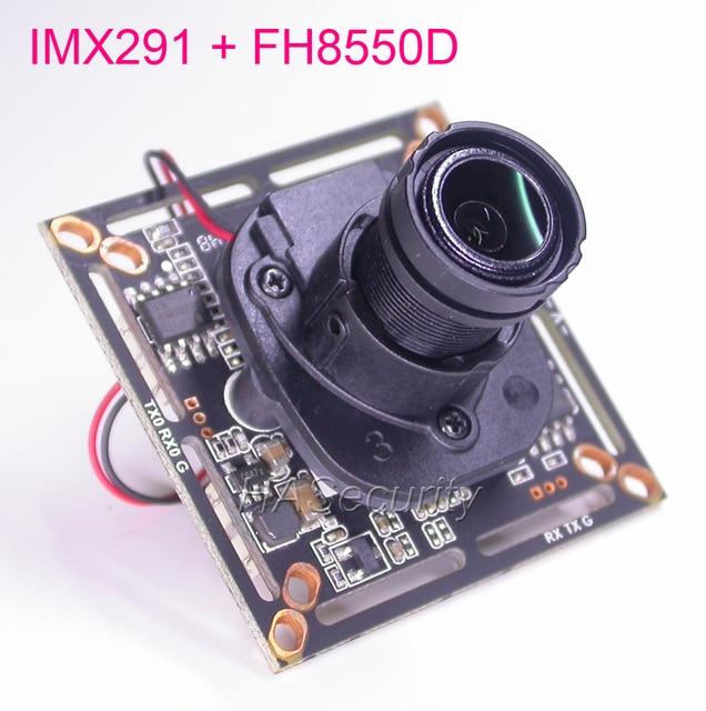 "AHD-H / CVBS 1/2.8"" Sony STARVIS CMOS IMX291 CMOS + FH8550D CCTV camera PCB board module +OSD cable +IRC +M12 LENs (UTC)"