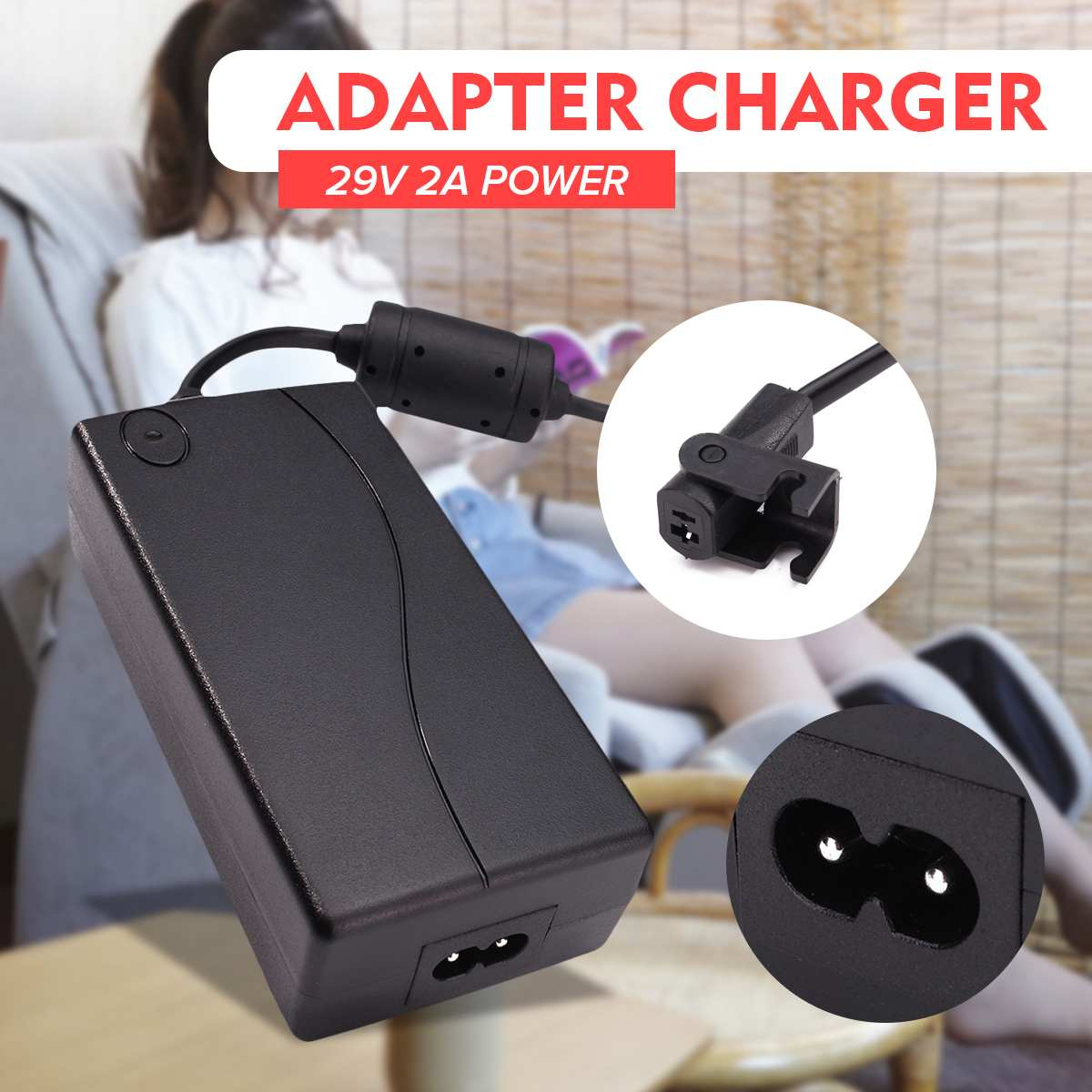 Admirable Low Price 29V 2A Ac Dc 2Pin Electric Recliner Sofa Chair Adapter Transformer Power Supply Short Links Chair Design For Home Short Linksinfo