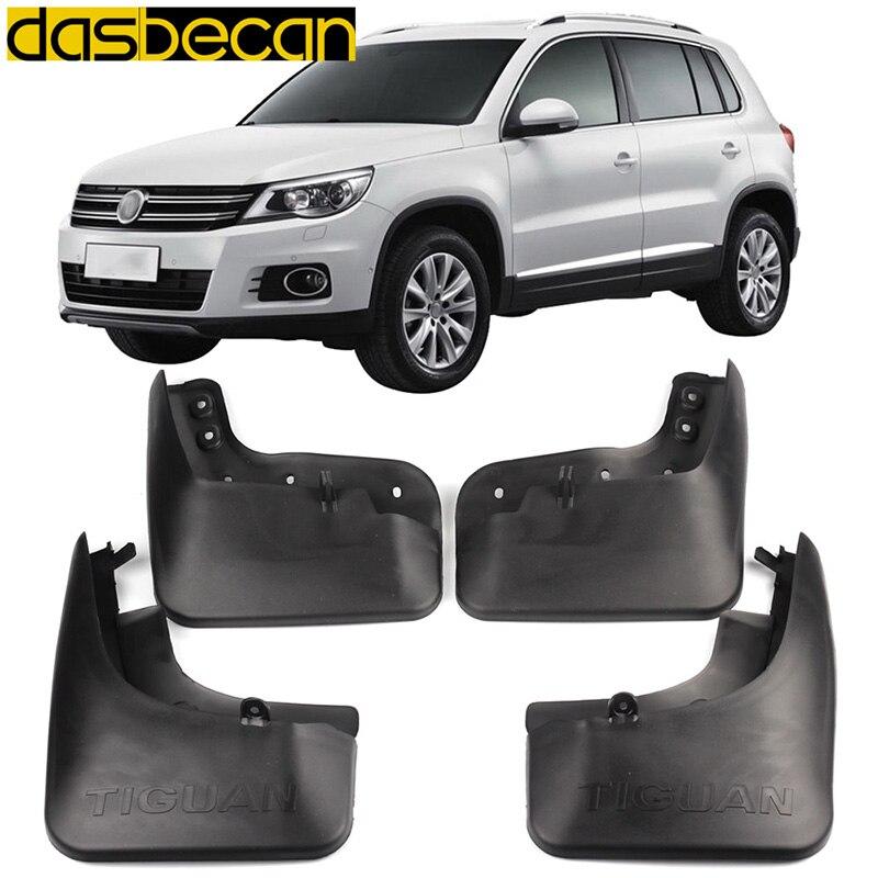 Dasbecan автомобильные грязевые Брызговики для VW Tiguan 2007-2015 автомобильные аксессуары для крыла брызговики