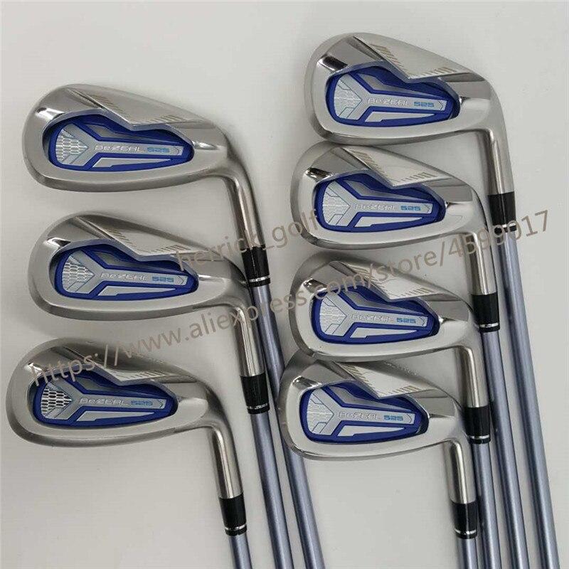 Женские клюшки для гольфа HONMA BEZEAL 525 клюшки для гольфа с графитом L flex 6-11.Sw 7 шт. Бесплатная доставка