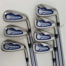Clube feminino ferros de golfe honma bezeal 525 clubes de golfe com grafite l flex 6 11.sw 7 peça frete grátis