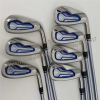 Women's Club Golf irons HONMA BEZEAL 525 Golf clubs with Graphite L flex 6 11.Sw 7 piece Free shipping