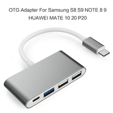 USB 3.0 2.0 OTG Adapter USB Type C OTG Cable Power for Samsung Note S8 9 Plus HUAWEI Mate P10 20 Pro Macbook Fast Charger Cable usb c otg cable usb 2 0 usb 3 0 3 1 otg adapter type c otg for samsung galaxy s8 s9 huawei p10 p20 mate10 pro for macbook 20cm