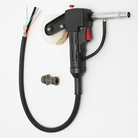 Aluminum NBC 200A Miller MIG Spool Gun Pull Feeder Welding Torch with 1m Cable