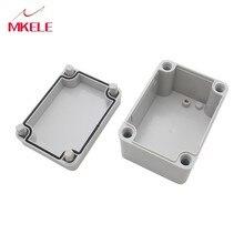 M3 ABS Waterdichte Plastic Elektronische Instrument Project Cover Box Behuizing CaseWit  DIY Elektrische Levert 80x110x70mm
