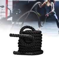 9M/12M/15M Battle Rope Fitness Training Rope MMA UFC Body Strength Training Sport Fitness Exercise Workout Rope Battling Rope