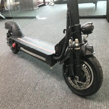 10-inch Off Road Electric Scooter Adult bike 48V new Double motor Style powerful Foldable e-bike 4