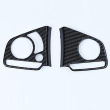 For Honda Civic 10th 2016-2017-2018 Carbon Fiber Type Steering Wheel Cover Trims decoration circle trims for 10th gen honda civic a pillar car door audio speaker rings trims for honda civic 2016 2017 2019 2019