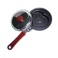 Mini sartén de freír huevo creativo desayuno de moho sartén para pancakes antiadherente CookwareLove sección Ollas     -