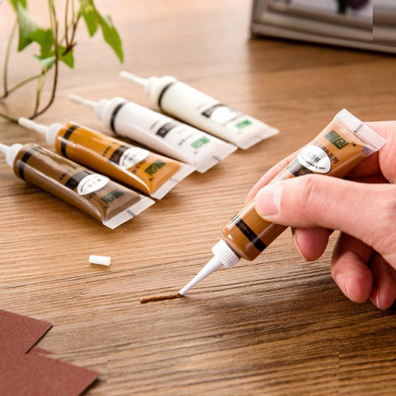 New Furniture Repair Paint Solid Wooden Refinishing Paste Floor Furniture Scratch Fast Remover Black Walnut Repair Paint Pen