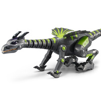Infrared Remote Control with Light Crawling Dancing Dinosaur Model Gift Toy