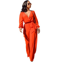 Jumpsuit Sexy Vrouwen Mouw