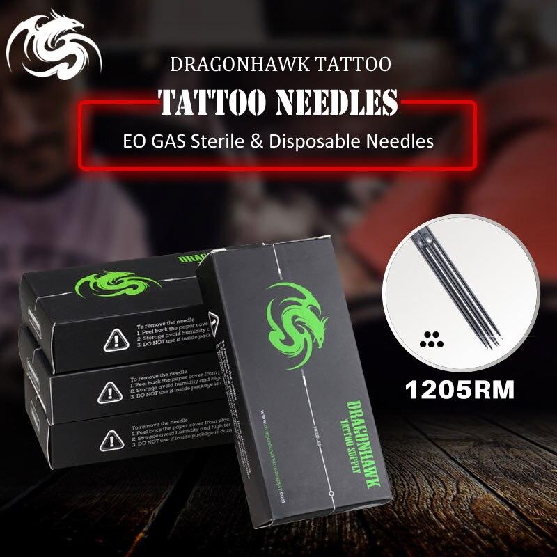 Caixa de Pcs Shader Rodada Premade Esterilizado Tatuagem